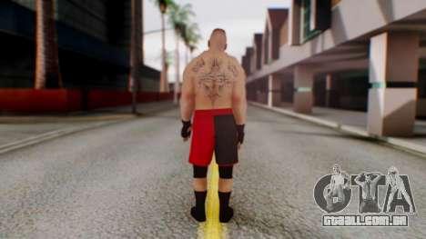 Brock Lesnar para GTA San Andreas terceira tela