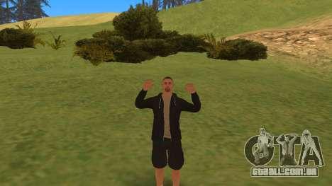 Falando como um mafioso para GTA San Andreas terceira tela