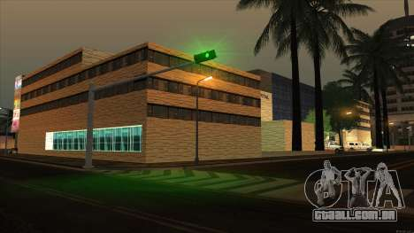 LSPD, All Saints Hospital & Skyscrapers 2016 para GTA San Andreas terceira tela