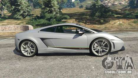 GTA 5 Lamborghini Gallardo LP570-4 Superleggera 2011 vista lateral esquerda