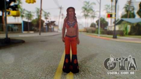 Micki James para GTA San Andreas segunda tela