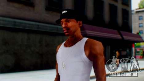 Mafia Cap Black White para GTA San Andreas