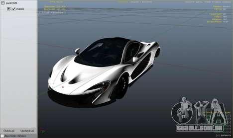 Roda GTA 5 2014 McLaren P1 v2.0