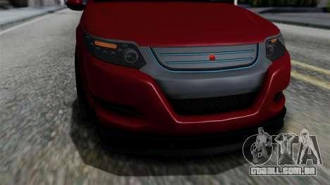 GTA 5 Cheval Surge IVF para GTA San Andreas vista direita