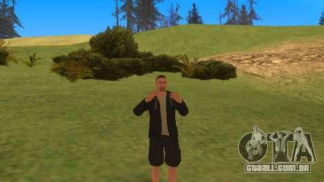 Falando como um mafioso para GTA San Andreas segunda tela