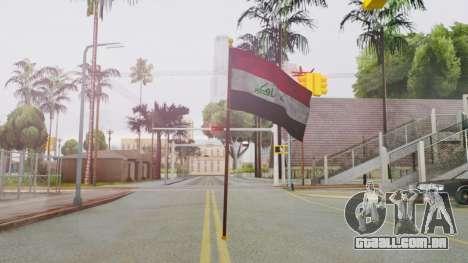 Iraq Flag HD para GTA San Andreas segunda tela