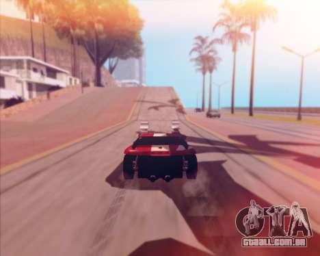 Banshee Twin Mill III Hot Wheels v1.0 para GTA San Andreas vista traseira