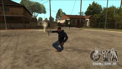 Animação adicionais TEC-9 para GTA San Andreas segunda tela