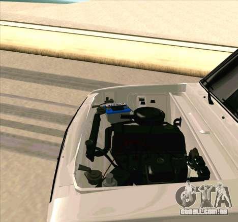 VAZ 2106 [ARM] para GTA San Andreas vista interior