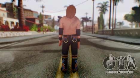 Heath Slater para GTA San Andreas terceira tela