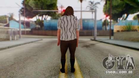WWE Mankind para GTA San Andreas terceira tela