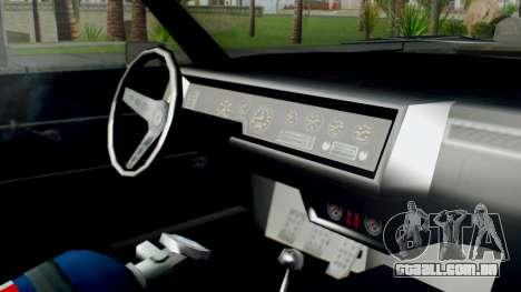 GTA 5 Imponte Nightshade IVF para GTA San Andreas vista direita