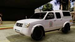 Nissan Frontier ABS CBN para GTA San Andreas
