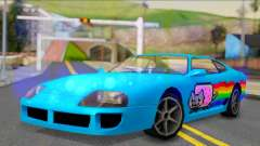 Jester PJ of Nyan Cat para GTA San Andreas