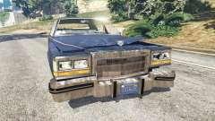 Cadillac Fleetwood Brougham 1985 [rusty]