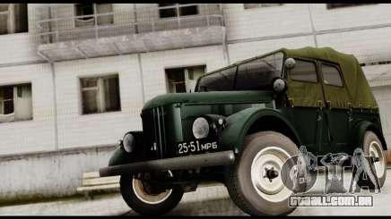 GAZ-69UM para GTA San Andreas