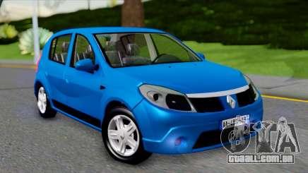 Renault Sandero para GTA San Andreas