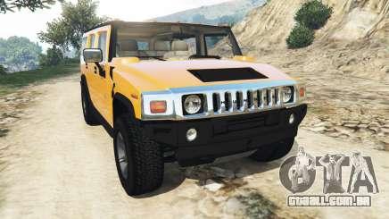 Hummer H2 2005 para GTA 5