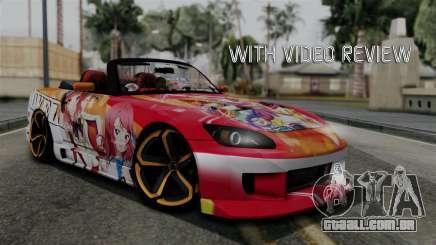 Honda S2000 Nishikino Maki Love Live Itasha para GTA San Andreas