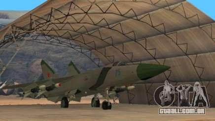 O MiG 25 para GTA San Andreas