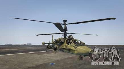 Ka-52 Alligator para GTA 5