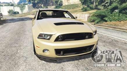 Ford Mustang Shelby GT500 2013 v2.0 para GTA 5
