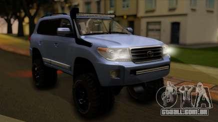 Toyota Land Cruiser 200 2013 Off Road para GTA San Andreas
