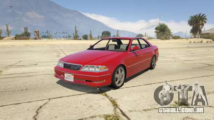 Toyota Mark II JZX100 Tunable para GTA 5