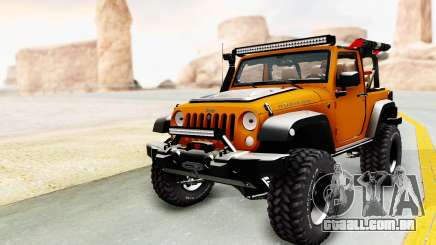Jeep Wrangler Off Road para GTA San Andreas