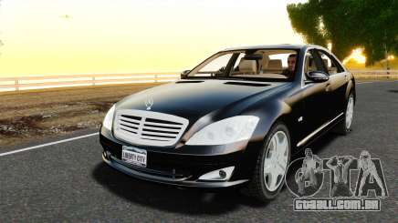 Mercedes-Benz S600L 2008 para GTA 4