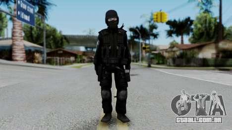 Regular SWAT para GTA San Andreas segunda tela