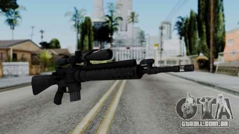 Arma AA MK12 SPR para GTA San Andreas