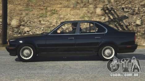 GTA 5 BMW 535i E34 voltar vista