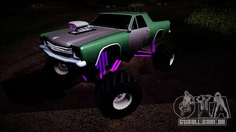 Picador Monster Truck para vista lateral GTA San Andreas
