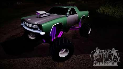 Picador Monster Truck para vista lateral GTA San Andreas