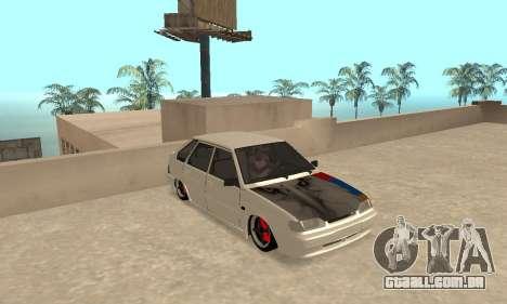 Vaz 2114 Armenian para GTA San Andreas esquerda vista