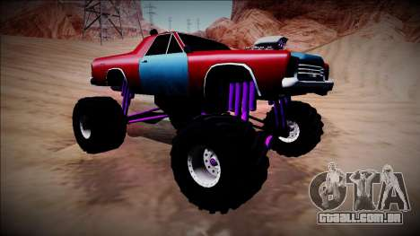 Picador Monster Truck para GTA San Andreas