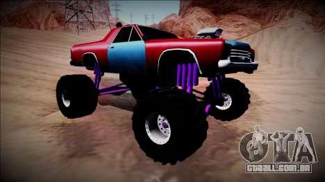 Picador Monster Truck para GTA San Andreas