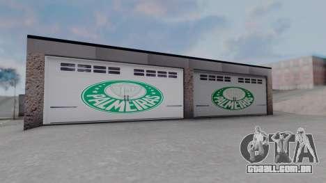 New Garage in San Fierro para GTA San Andreas por diante tela