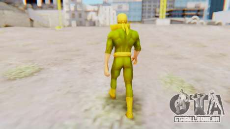 Marvel Future Fight - Iron Fist para GTA San Andreas terceira tela