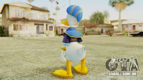 Kingdom Hearts 2 Donald Duck Default v1 para GTA San Andreas terceira tela