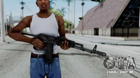 AKS-47 para GTA San Andreas terceira tela