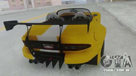 GTA 5 Bravado Banshee 900R Tuned para GTA San Andreas esquerda vista