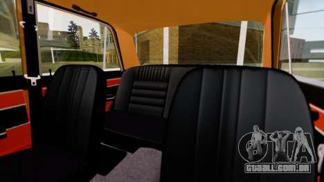 VAZ 2103 para vista lateral GTA San Andreas