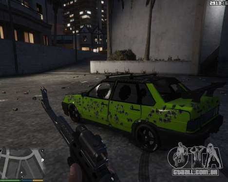 GTA 5 VAZ 2115 voltar vista