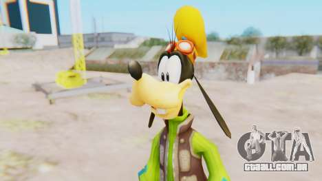 Kingdom Hearts 2 Goofy Default para GTA San Andreas