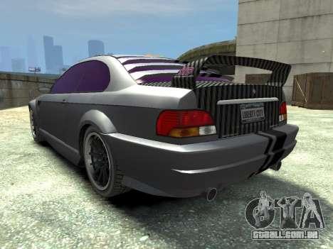 Sentinel CARBON v1.0 para GTA 4 traseira esquerda vista