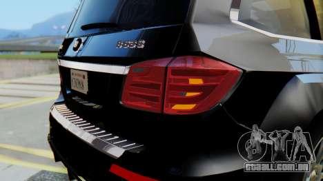 Brabus B63S para GTA San Andreas interior
