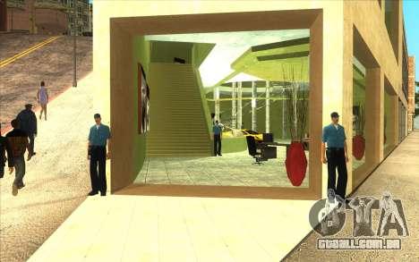 O renascimento da concessionária de carros Ottos para GTA San Andreas segunda tela
