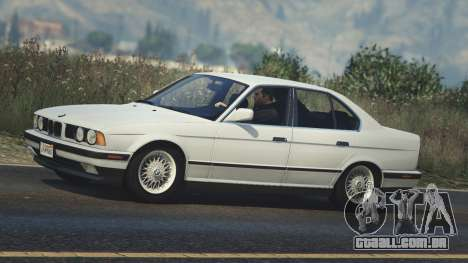 GTA 5 BMW 535i E34 vista lateral esquerda